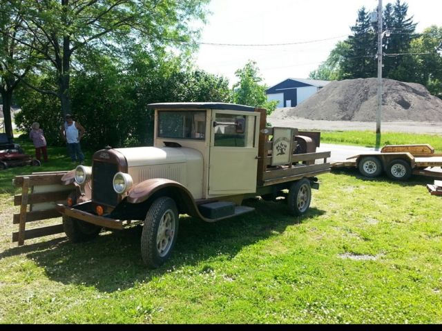 1928 reo Flatbed driver 1930 1931 1926 1939 rat rod ford chevrolet FIRE TRUCK for sale in United