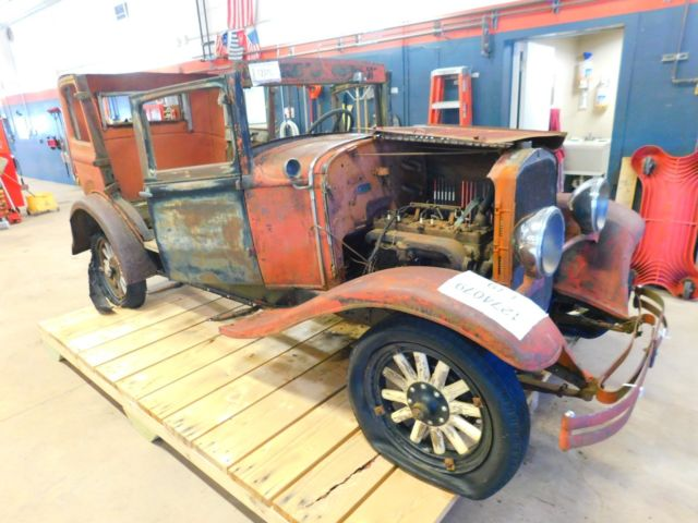 Auto Bill Of Sale As Is No Warranty: 1929 DeSoto Six Sedan PARTS VEHICLE NO TITLE/JUNK BILL OF