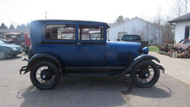 1929 ford model a 2 door tudor driver new paint wiring for 1929 model a 2 door sedan