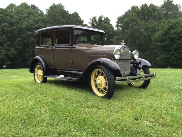 1929 ford model a 3 window fordor four door sedan murray 165 a no reserve for sale in for 1929 ford model a 4 door sedan