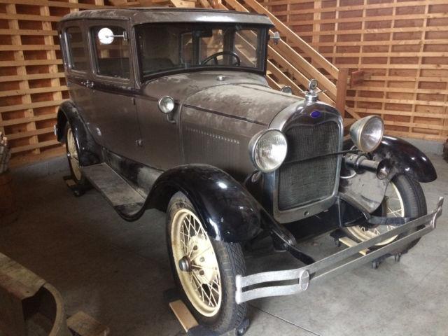 1929 ford model a 4 door sedan for 1929 model a 2 door sedan