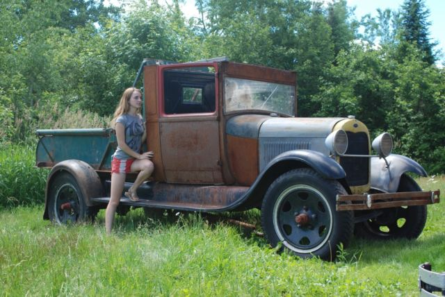 Walmart Call In Number >> 1929 Ford Model A AA Wrecker Tow Truck Barn Find Patina