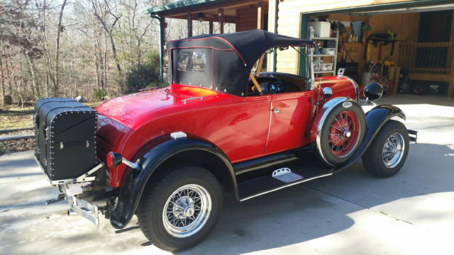 1929 Model A Quot Shay Quot Reproduction Super Deluxe Roadster