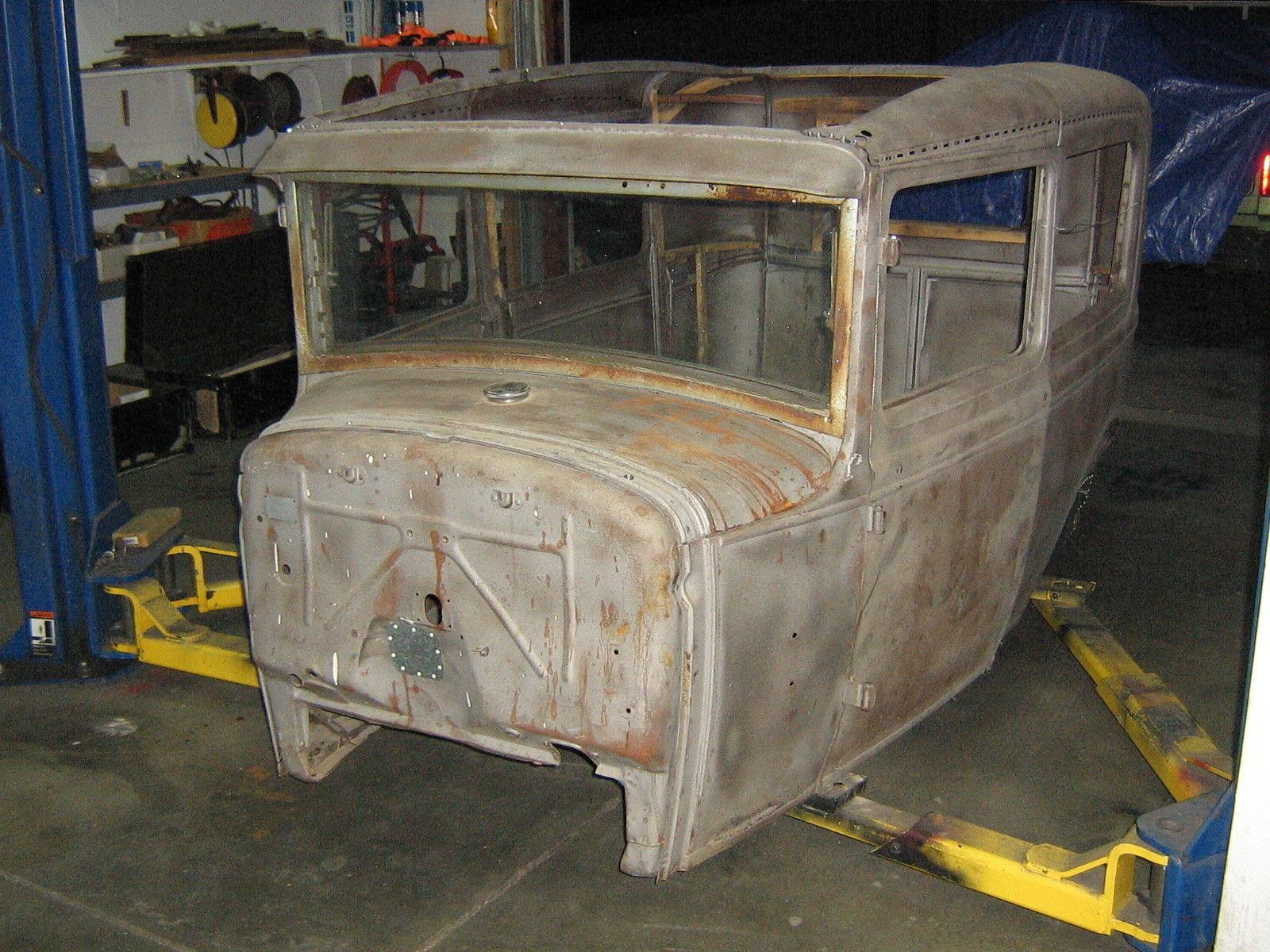 1930 1931 30 31 28 29 Ford Model A Body Rat Rod 2dr door tudor ...