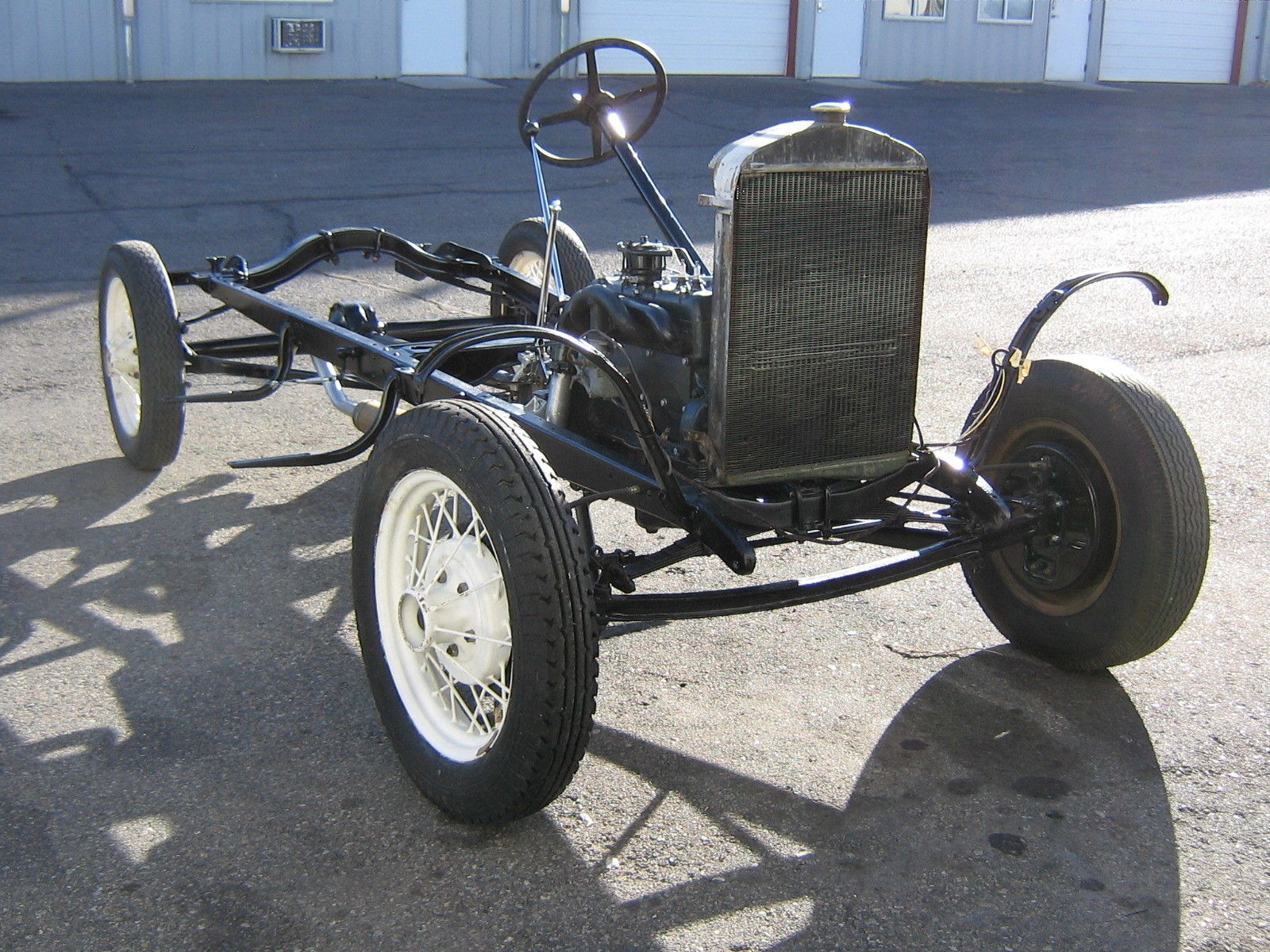 1930 1931 30 31 FORD MODEL A CHASSIS STOCK REBUILT JUICE ...