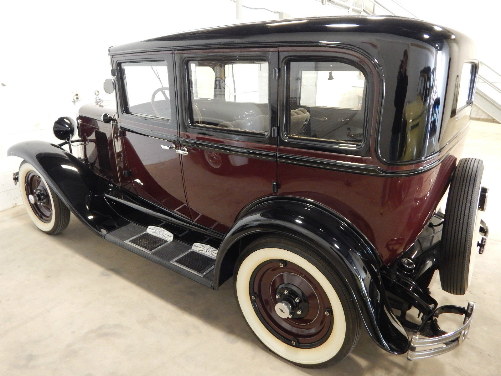1930 Chevrolet Ad Universal 4 Door Beautifully Restored For Sale In Chevy Sedan Spare Tire Mount