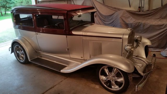 1930 chevy 2dr sedan street rod for 1930 chevy 4 door