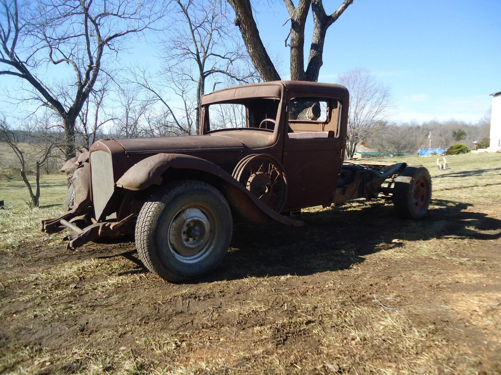 1930 Desoto Rat Rod Pick Up 5 2 V 8 Dodge Plymouth 1931