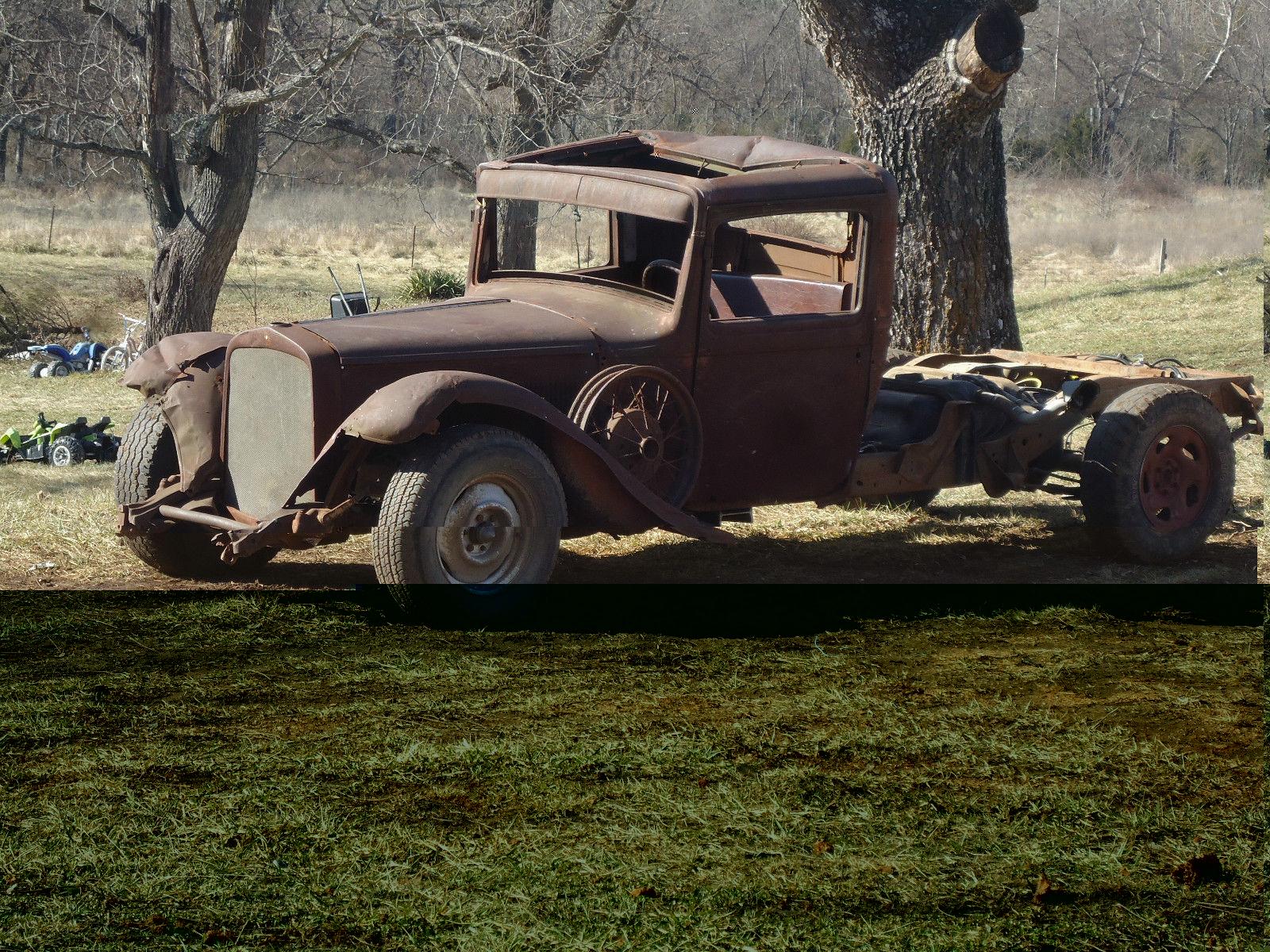 Desoto Rat Rod Pick Up V Dodge Plymouth
