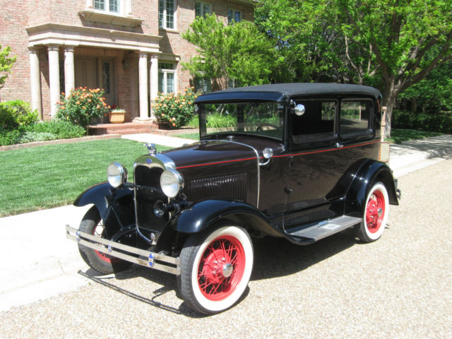 1930 ford model a 2 door sedan from an estate for 1930 ford model a two door sedan
