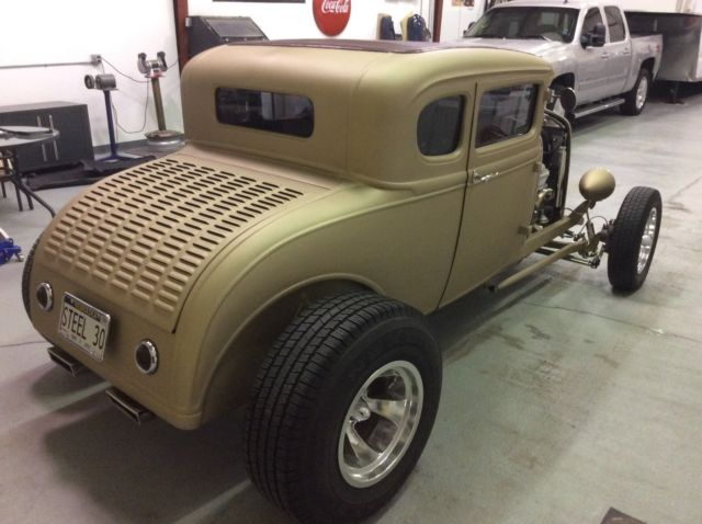 1930 ford model a 5 window coupe all steel hotrod for 1930 model a 5 window coupe