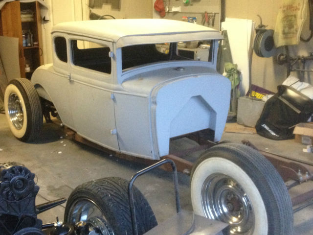 1930 Ford Model A 5 Window Coupe Rat Rod Hot Rod For Sale In