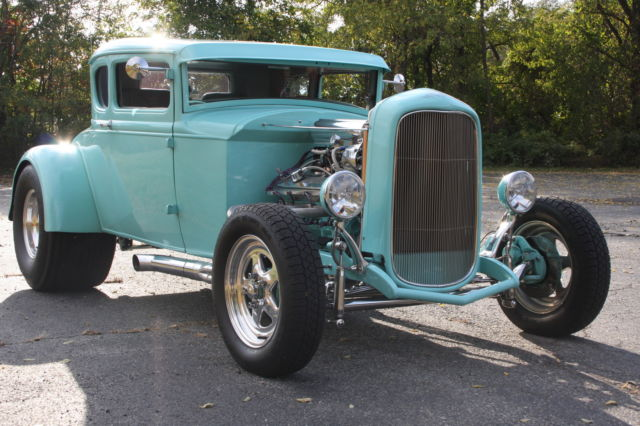 1930 ford model a coupe 5 window hot rod for sale in. Black Bedroom Furniture Sets. Home Design Ideas