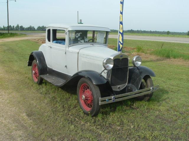 1930 ford model a coupe barn find hot rod project solid runs for sale in piggott arkansas. Black Bedroom Furniture Sets. Home Design Ideas