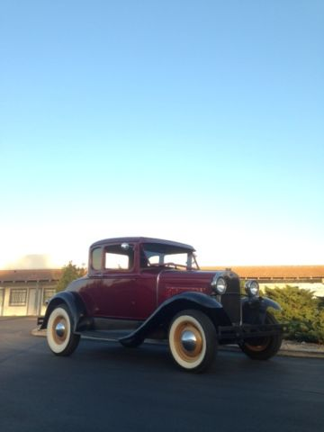 1930 FORD MODEL A COUPE, HOT ROD, 1931, 1929, 1928, MODEL ...