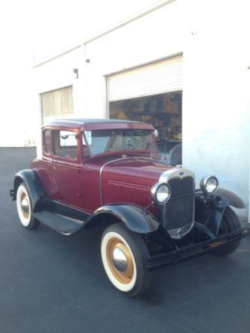 1930 Ford Model A Coupe Hot Rod 1931 1929 1928 Model