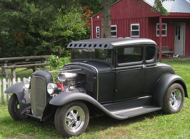 1930 ford model a coupe hot rod rat rod old school for. Black Bedroom Furniture Sets. Home Design Ideas