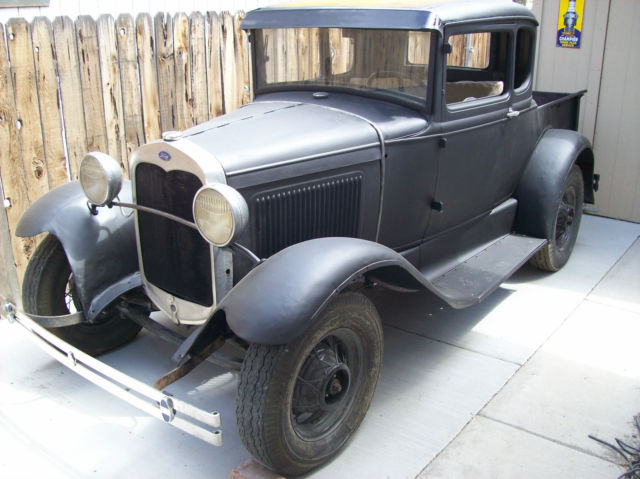 1930 ford model a coupe pickup banger trog hot rod rat rod. Black Bedroom Furniture Sets. Home Design Ideas