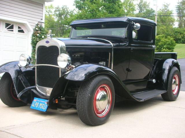 1930 ford pickup truck rat rod hot rod street rod. Black Bedroom Furniture Sets. Home Design Ideas