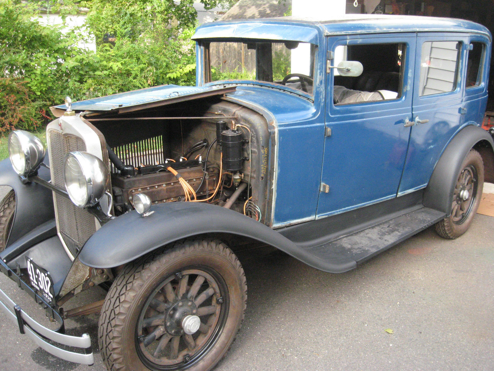 1930 HUPMOBILE Six model S Sedan unrestored driving barn car for ...