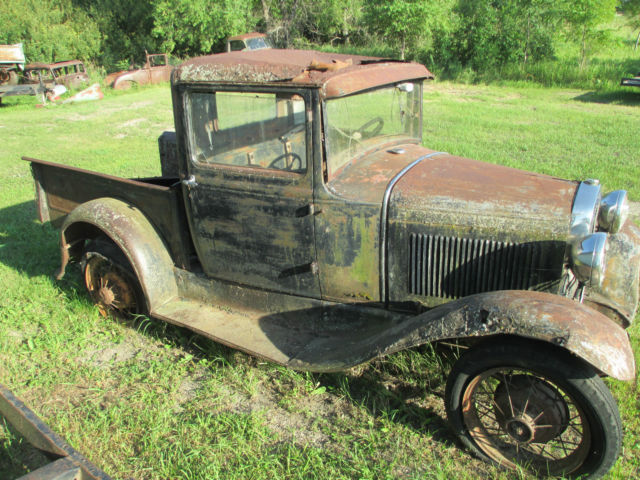 1930 model a ford pickup rat rod coupe for sale in valley. Black Bedroom Furniture Sets. Home Design Ideas