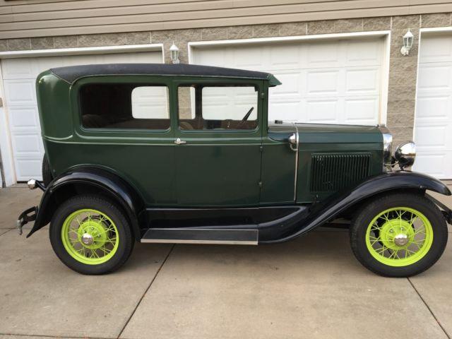 1930 Model A Ford Tudor Sedan For Sale Photos Technical