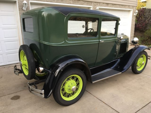 1930 Model A Ford Tudor Sedan For Sale Photos Technical