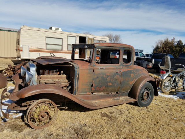 1931 Chevrolet 5 Window Coupe Hot Rod Rat Rod Project