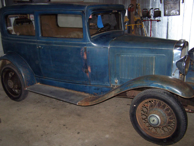 1931 chevy 2 door sedan all original with 55 k miles for