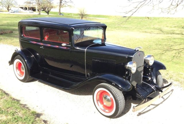 1931 Chevy 2dr Sedan 2 Quot Chop Cold Ac Mii High End