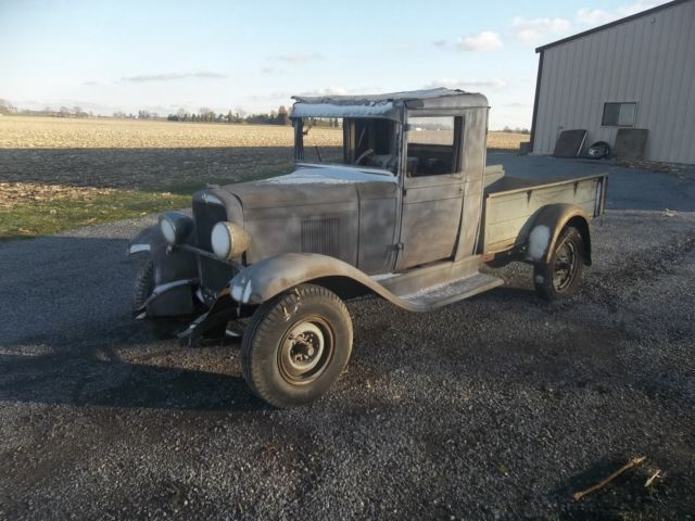1931 Chevy Pickup Truck Rat Rod Barn Find NO RESERVE