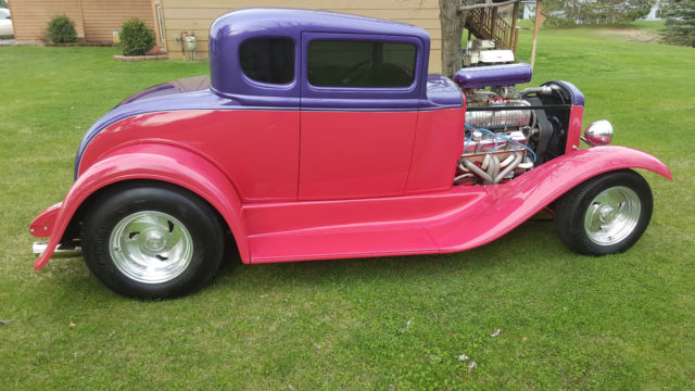 1931 Ford Model A 5 Window Duece Coupe 3 Window Hot Rod