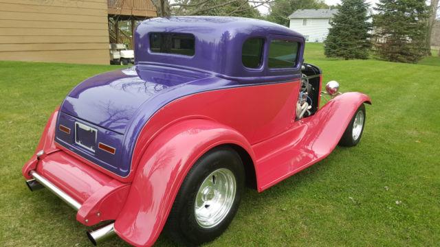 1931 Ford Model A 5 Window Duece Coupe 3 Window Hot Rod Street Rod