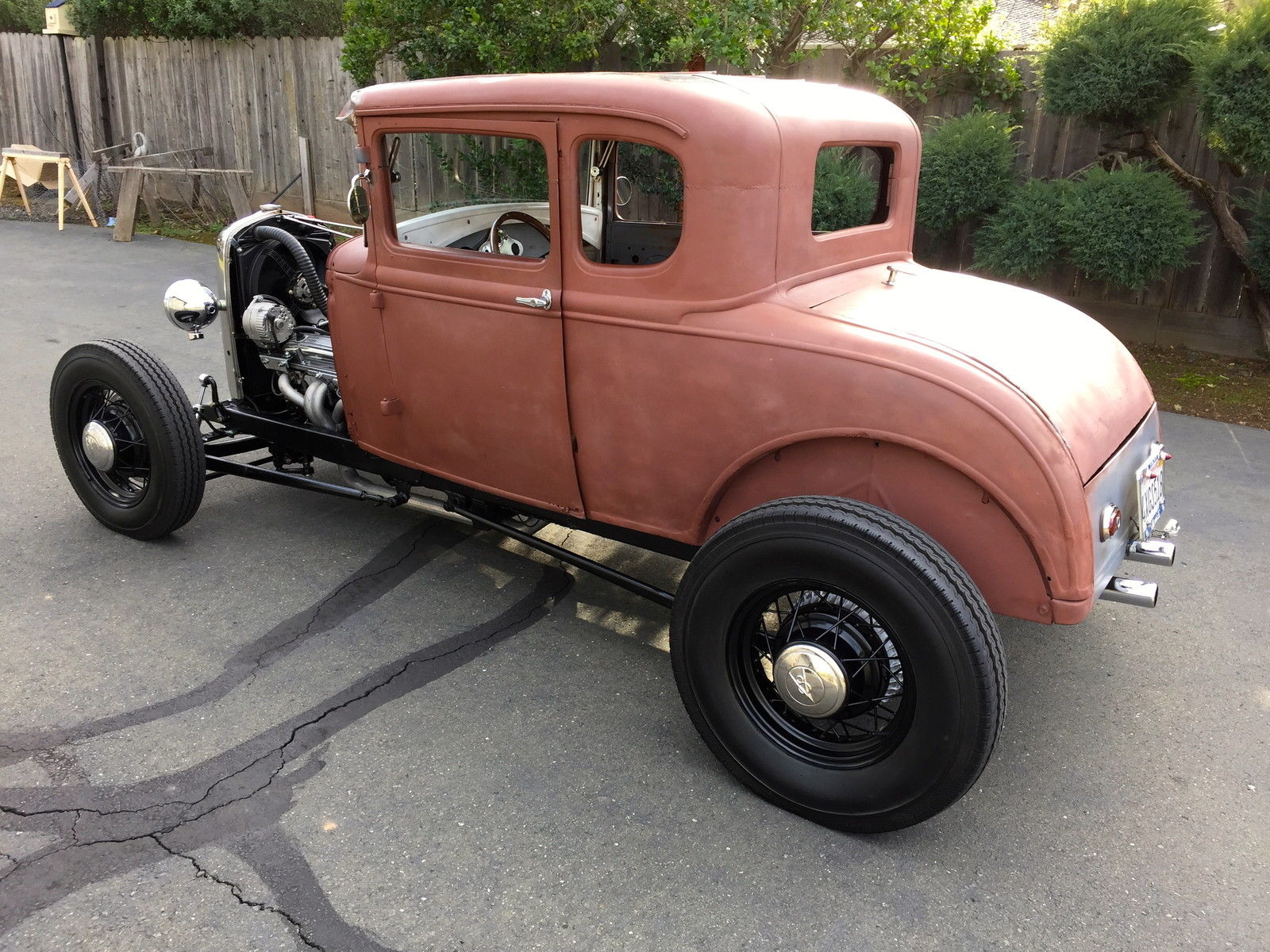 1930 Ford Model A Hot Rod,V8, Daily Driver, California Car