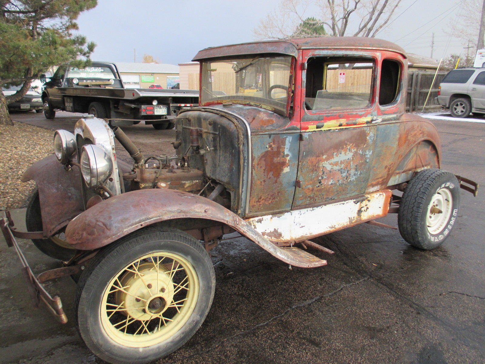 1931 Ford Model A Coupe Rumble Seat Great Project