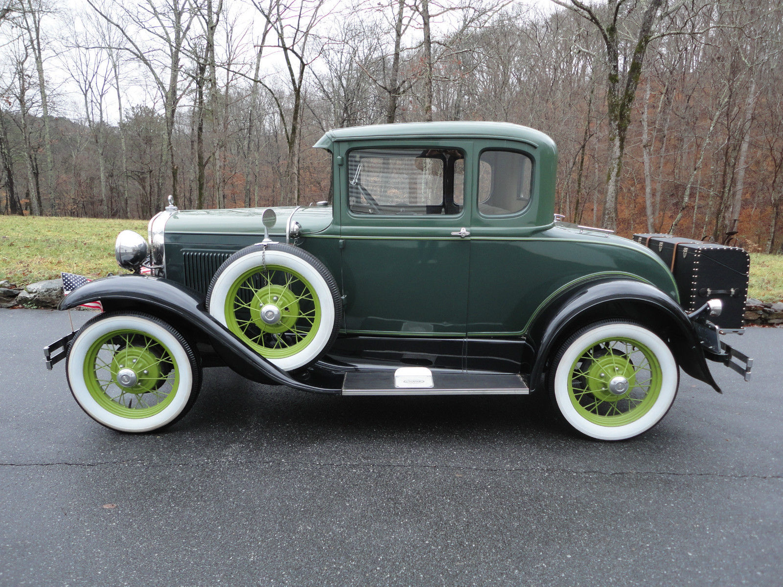 1931 Ford Model A Deluxe 5 Window Coupe  All Steel For