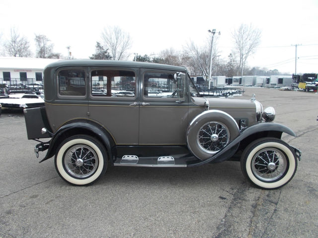 1931 ford model a slant window sedan for sale in