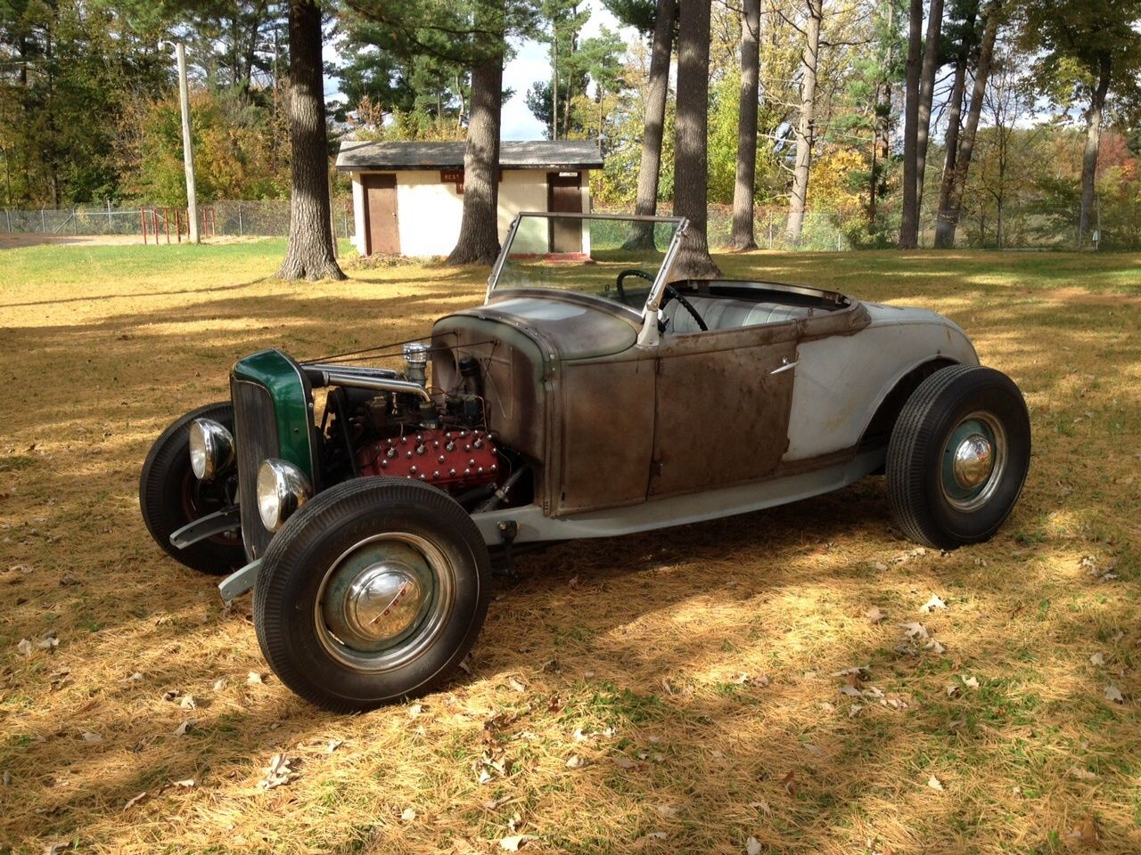 1931 Ford Roadster With Original 1932 Frame And 59ab