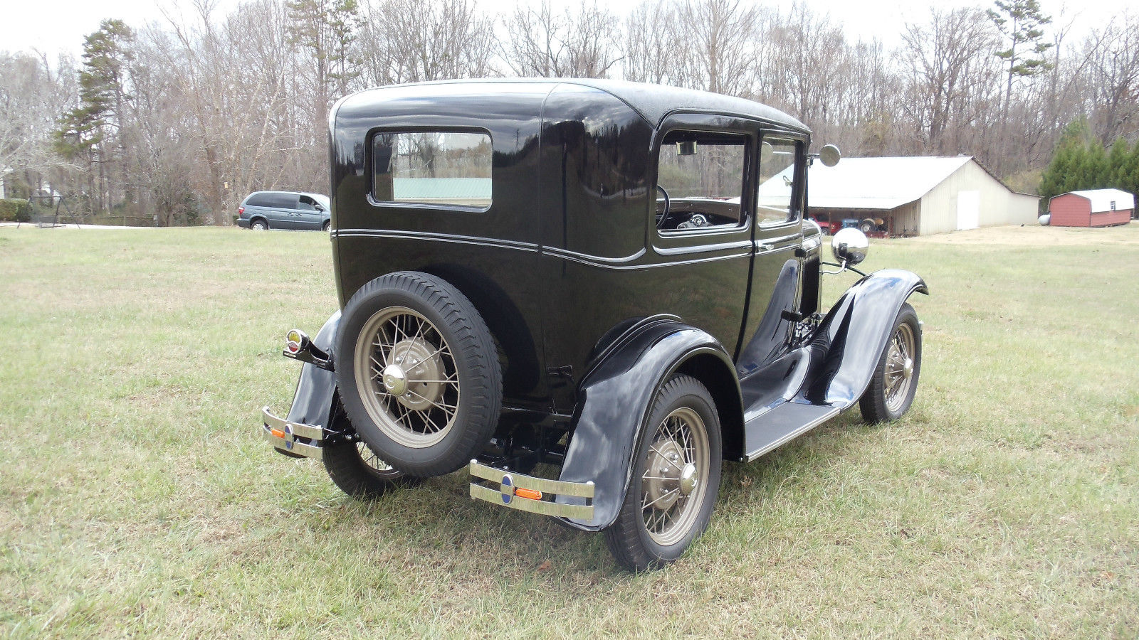 Technical specifications of ford model a 1931