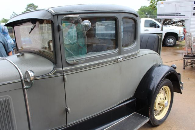 1931 Model A With Mother In Law Seat