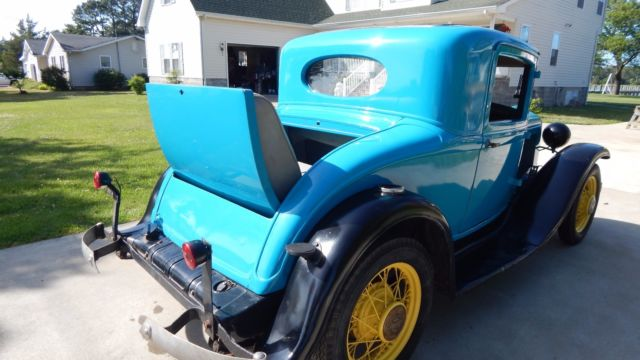1931 Plymouth 3 Window Coupe Rumble Seat Not Ford Not