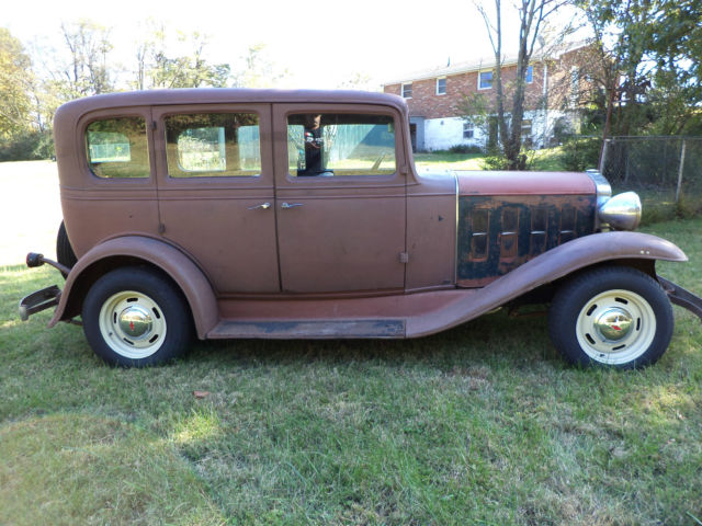 1932 chevrolet 4 door sedan street rod for sale in