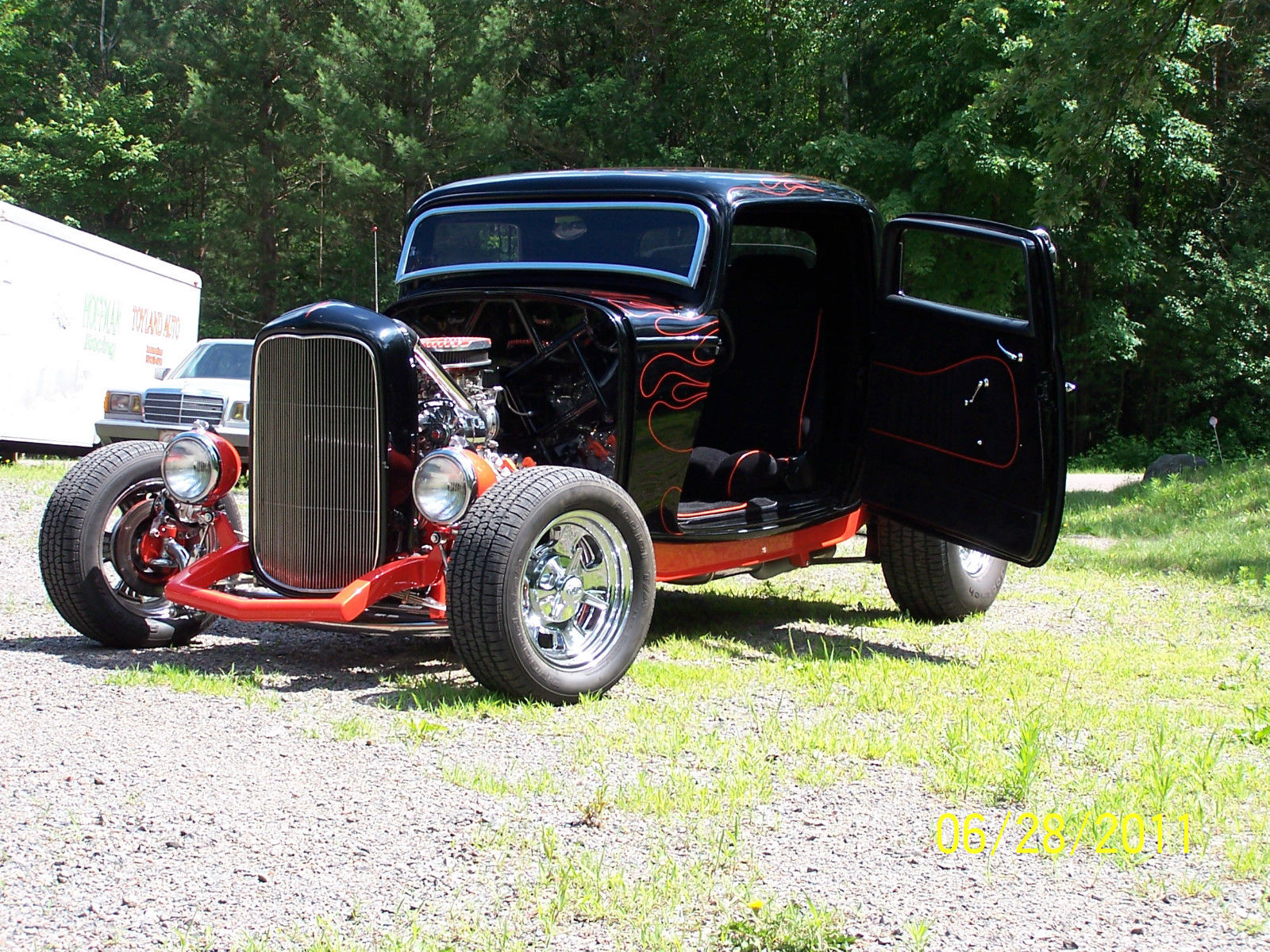 1932 ford 3 window coupe hotrod blown flathead 5 speed for 1932 ford 3 window coupe for sale in canada