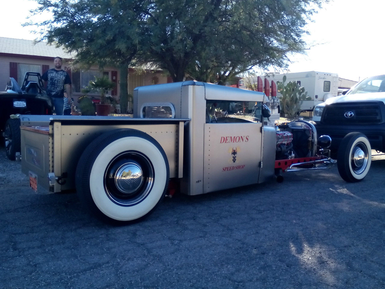 1932 FORD HOT ROD PICKUP RAT ROD SHOP TRUCK GASSER CUSTOM SHOW CAR ...