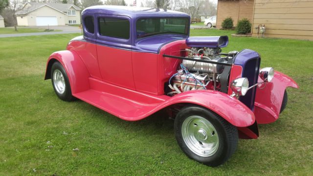 1932 Ford Model A 5 Window Duece Coupe 3 Window Hot Rod