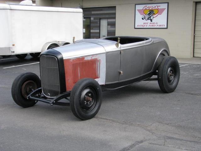 1932 Ford Roadster Project Original Chassis & Brookville