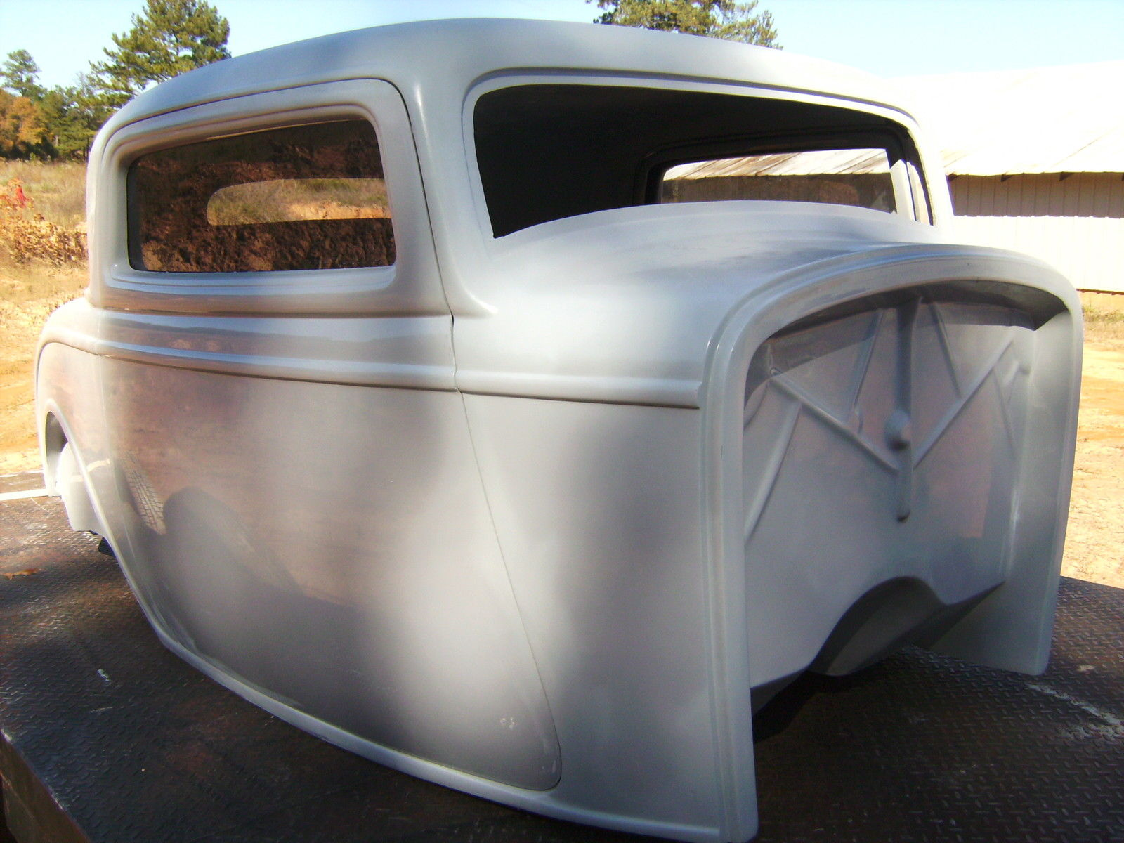1932 Ford Three Window Coupe Fiberglass New Body For Sale