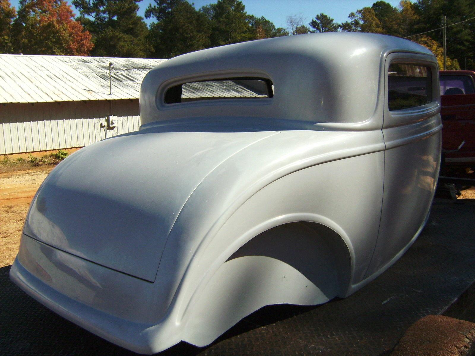 1932 ford three window coupe fiberglass new body with new for 1932 ford 5 window fiberglass body