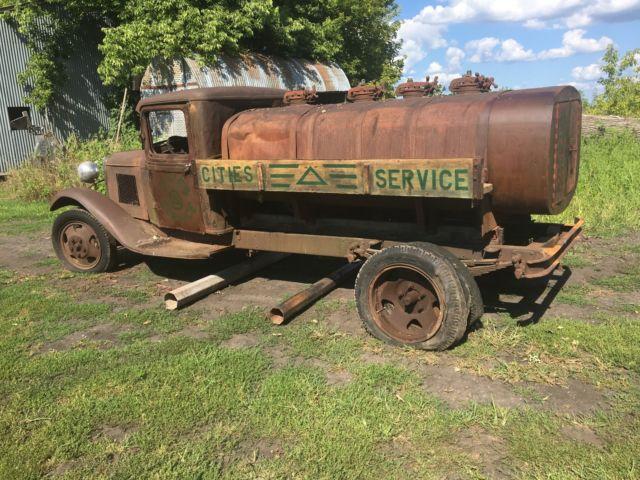 1932 Model Aa Ford Truck Bulk Tank Rat Rod Fuel Tank