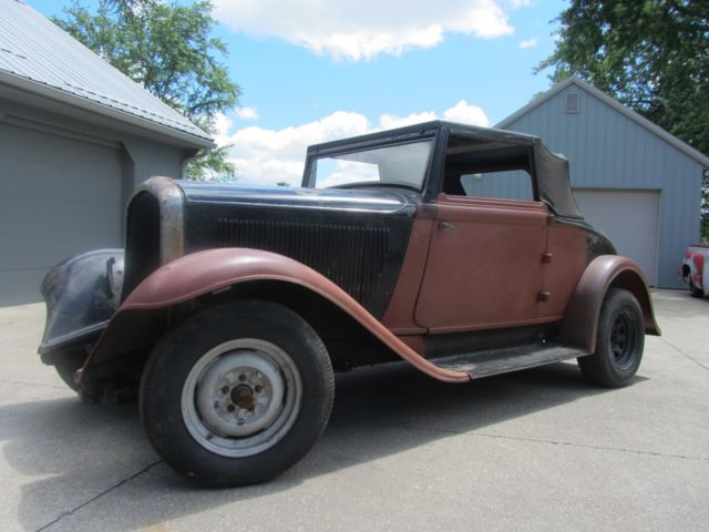 1932 plymouth convertible coupe hot rod rat rod for 1932 plymouth 4 door sedan